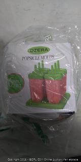 Ozera Popsicle Mold 6 piece set-NEW