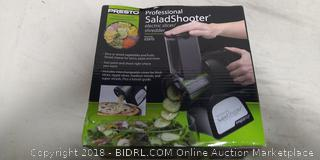 Presto 02970 Professional SaladShooter Electric Slicer/Shredder, Black (Online $49)