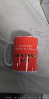Hurricanes Fan Ceramic Mug
