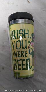 Travel Mug - Irish you were beer
