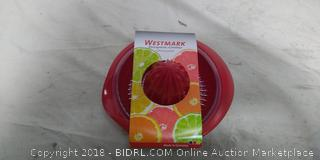 Westmark Germany Manual Citrus Press Juicer with Strainer and Bowl Non-Slip (Online $11)