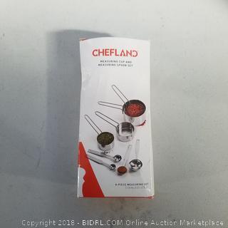 Chefland 8 Piece Measuring Set