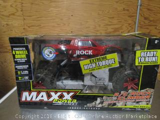Maxx Power Drive 4WD R/C Rock/Stair Climber Ultimate Off-road Vehicle Pro Series In Original Box