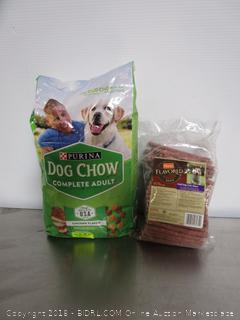 Purina Dog Chow, Hartz Flavored Beef