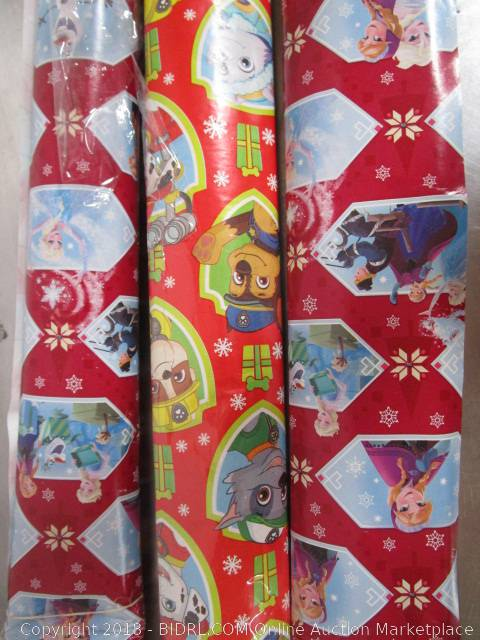 6ddc7f5fc1708 COM Online Auction Marketplace - Auction: Christmas Trees, Decorations &  Wrapping Paper - Elk Grove - December 11th ITEM: Frozen Elsa & Paw Patrol  Christmas ...