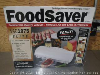 FoodSaver Vac1075 Elite with Bags & Accessory System
