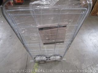 Folding Wire 4-Wheel Cart