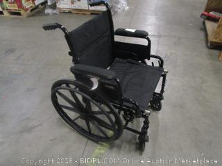 Carex Black Wheelchair (no footrests)