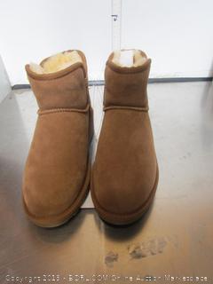 Kirkland Womens Sherpa Slipper Shoes/Boots 8