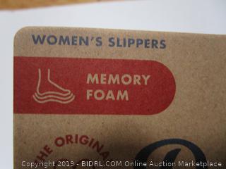 Dearfoams Memory Foam Slippers XXL