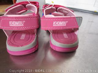 Khombu Kids Pink Sandals size 2