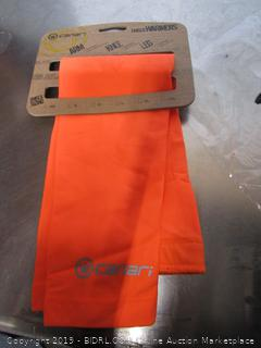 Solar Flare orange Arm Warmers
