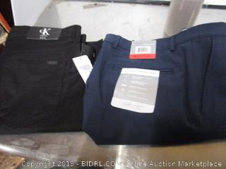 Mens Calvin Klein 34x32 & Greg Norman 34x30 Pants