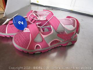 Khombu Kids Pink Sandals size 2