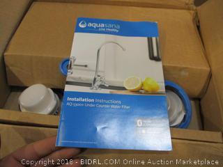 Aquasana Under Counter Water Filter