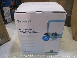 Automated CPAP Sanitizer
