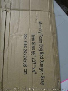 Memory Foam Dog Bed XL