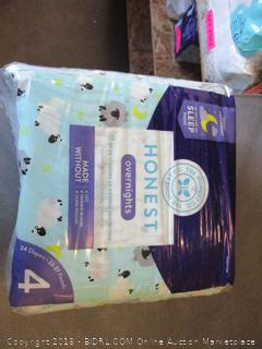 Honest Overnigts Diapers Size 4