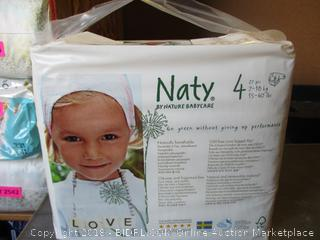 Naty by Nature Babycare Diapers Size 4