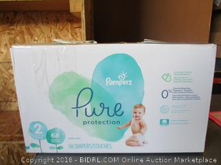 Pampers Pure Protection Diapers Size 2