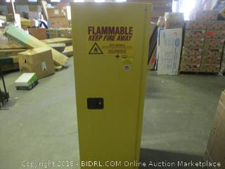 Flammable Liquid Locked Case