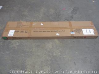 14 in dura metal steel slat bed frame, size full