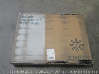 smartbase metal platform bed frame