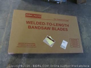 welded-to-length bandsaw blades