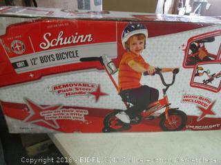 """Schwinn 12"""" Boys Bike"""