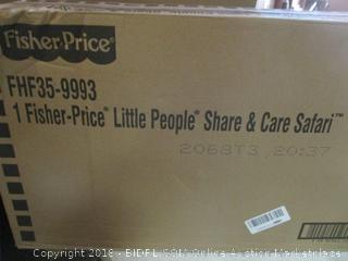 Fisher Price Little People Share & Care Safari