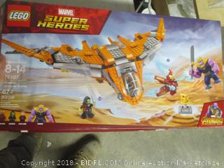 LEGO Marvel Superheroes Thanos: Ultimate Battle set