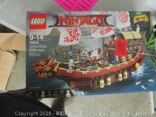 LEGO The Ninjago Movie Destiny's Bounty set
