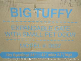 Big Tuffy Expandable Gat with Small Pet Door