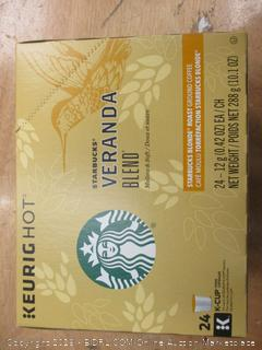 Starbucks Veranda Coffee K Cups