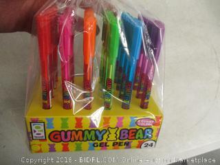 Gummy Bear Gel Pens