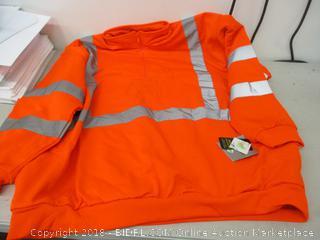 Orange Reflector Jacket 4X