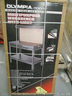 Olympia Tools Multipurpose Workbench with Light