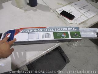 Fold N Go Steel Soccer Goal