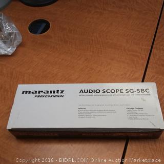 Marantz Audio Scope