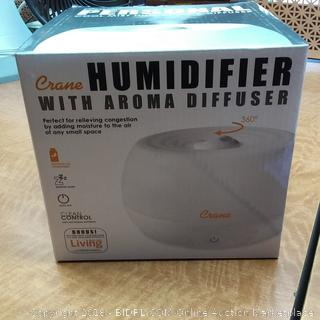 Crane Humidifier with Aroma Diffuser
