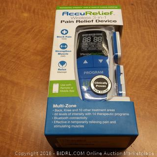 AccuRelief  Wireless 3 in 1 Pain Relief Device
