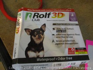Rolf 3D Club Collar for Dogs
