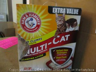 Cat Litter/ opened