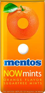 Mentos NOW Mints Orange Flavor Sugar Free Mints