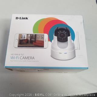 D-Link HD Pan & Tilt WiFi Camera