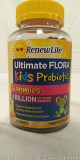 Renew Life - Ultimate Flora Probiotic Gummies - probiotics for kids - 60 chewable gummies (Online $17)