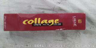 Lakme  Cosmetics:Collage Creme Platinum Blond Hair Color- NEW