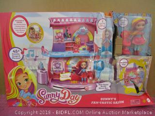 Sunny Day Fan-tastic Salon