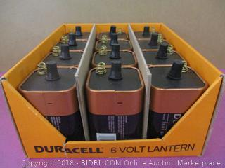 Duracell 6 Volt Lantern Batteries