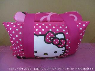 Hello Kitty Blanket and Pillow